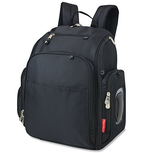 Top 10 recommendation backpack diaper bag black fisher price for 2019