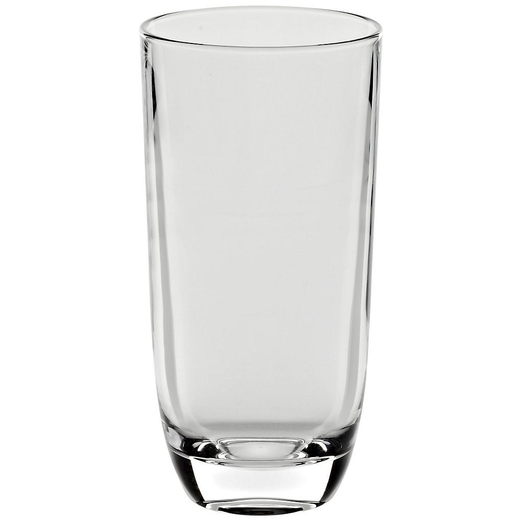 Drinking Glass, water glass ''Laguna Spirits'' 300ml, transparent, modern style, glass (GERMAN CRYSTAL powered by CRISTALICA)