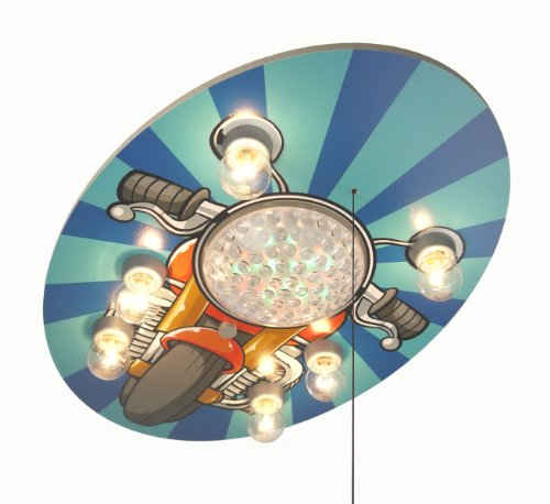 Niermann Standby LED Ceiling Lamp, Motorcycle by Niermann Standby