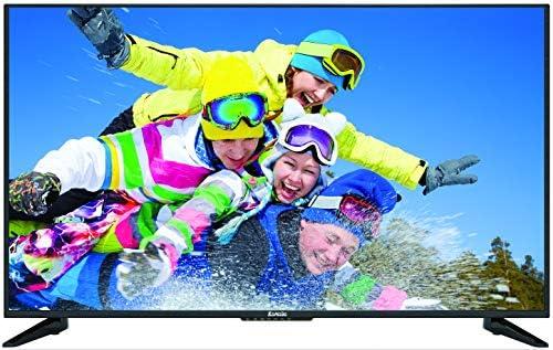 "Komodo by means of Sceptre KU515R 50"" 4K UHD Ultra Slim LED TV 3840x2160 Memc 120, Metal Black 2019"