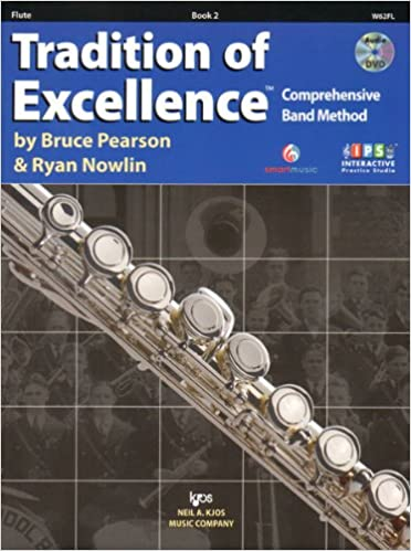 Wind & Woodwinds Charitable Kjos Pw22fl Standard Of Excellence Enhanced Book 2 Flute