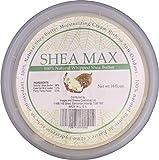 Shea Max Shea Butter | Best Body Butter Cream & Moisturizing Cream for Dry Skin| Cream for Men, Women & Kids| Eczema Relief Baby Cream| Dry Skin Moisturizer For Psoriasis Treatment 16 oz