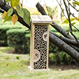 Topadorn Bee Hive Wooden House Hanging Bamboo
