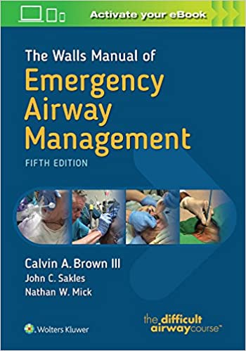 The Walls Manual of Emergency Airway Management: Amazon.es: Brown ...
