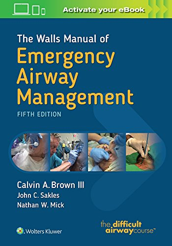 1496351967 - The Walls Manual of Emergency Airway Management