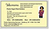 Valuemama Plastics - Paper Plate Holder White