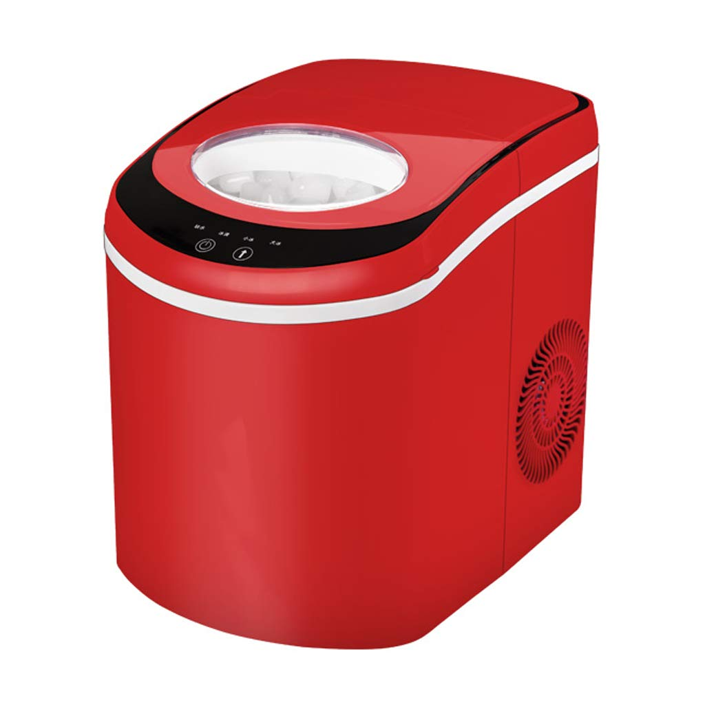 WHJ@ Compact Portable Countertop Ice Cube Maker Ice Machine 15kg Commercial Small Tea Shop Manual Household Ice Cubes by WHJ-Ice maker