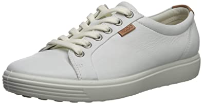 60c1455ff528c Ecco Womens Soft VII Fashion Sneaker, White, 35 EU/4-4.5 M