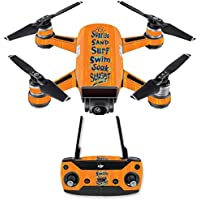 Skin for DJI Spark Mini Drone Combo - Beach Recipe  MightySkins Protective, Durable, and Unique Vinyl Decal wrap cover   Easy To Apply, Remove, and Change Styles   Made in the USA