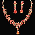 GUAngqi-Women-Necklace-Earrings-Flower-Jewelry-Set-for-Wedding-Bridal-Party