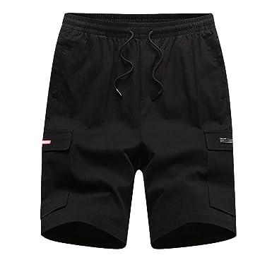 FELZ Pantalones Cortos de Hombre Pantalón Corto Multiusos de ...