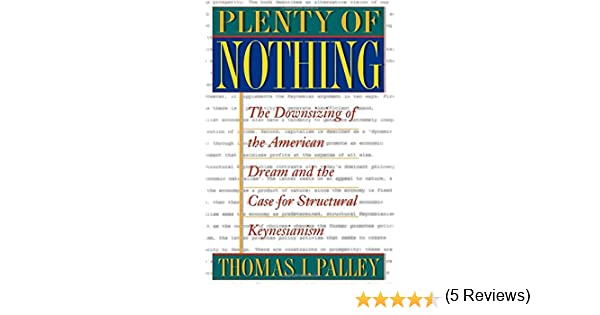 Plenty of nothing thomas i palley 9780691050317 amazon books fandeluxe Choice Image