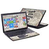 "MightySkins Skin for Toshiba Satellite C50 C55 15.6"" – Who Wander 