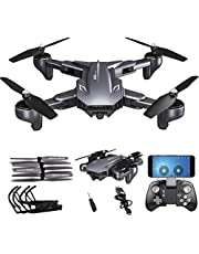 Visuo XS816 Drone With Dual Camera 4k 20 Mins Fly Optical Flow Positioning WIFI RC Gesture Shooting By PRIME TECH ™
