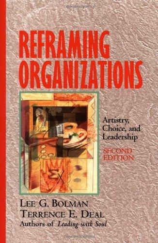 reframing organizations - 6