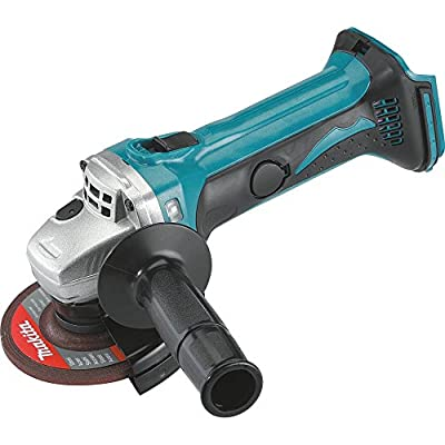 Makita XAG01Z 18V LXT Lithium-Ion Cordless Cut-Off/Angle Grinder, 4-1/2-Inch