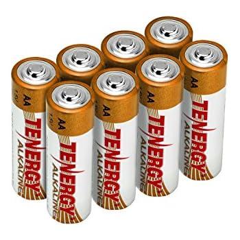 Amazon.com: Tenergy 1.5V AA Alkaline Battery, High