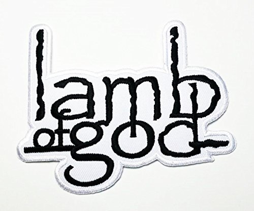 LAMB OF GOD PATCH / SPEED-THRASH-BLACK-DEATH METAL NEW! FREE SHIPPING TO WORLD WIDE