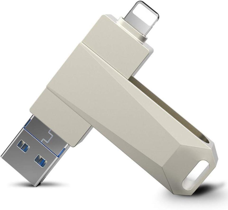 WANGOFUN Memory Stick USB 3.0 Flash Drive iPhone Storage Flash Drive Photo Stick Thumb Drive for iPhone//Ipad//iPod//iOS//Android//Computer,64G