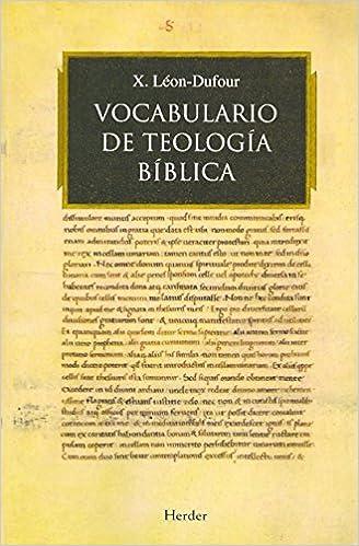 diccionario biblia teologico leon dufour pdf