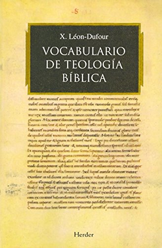 Vocabulario de teologia biblica / Vocabulary of Biblical Theology (Spanish Edition)