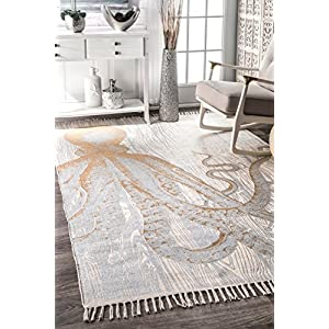 51l8UtLoaFL._SS300_ 50+ Octopus Rugs and Octopus Area Rugs