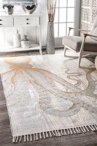 nuLOOM Thomas Paul Metallic Area Rug, 5 x 8 , Ivory