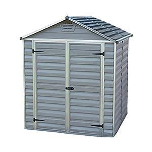 Palram SkyLight Shed 6x5ft Durable Storage Grey