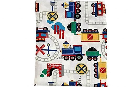 CHOO CHOO Size TODDLER (FLAT SHEET ONLY) Everything Kids Boys Girls Bedding NoJo
