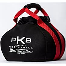 Kettlebell - The Best Exercise Equipment For Your Workout - Adjustable Kettlebells - Portable Weights - Soft Kettle Bell (Red, 0 - 30 lbs without Tank Water Bladder)