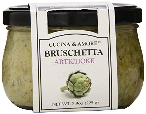 Artichoke Bruschetta - Cucina & Amore Artichoke Bruschetta, 7.9 Ounce (Pack of 6)