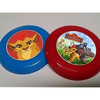 Amazon.com: 12 Lion Guardia Mini Frisbees, fiesta de ...
