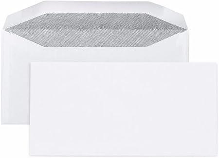 250 enveloppe courrier DL2 114 x 229 mm patte gomm/ée m/écanisable pour machine mise sous pli automatique agr/ées Pitney Bowes carat et compatible toutes mise sous plis bell howell satas neopost
