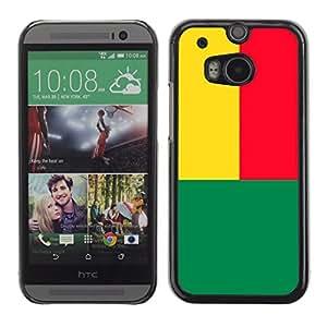 - Flag - - Monedero pared Design Premium cuero del tir¨®n magn¨¦tico delgado del caso de la cubierta pata de ca FOR HTC M8 One 2 Funny House