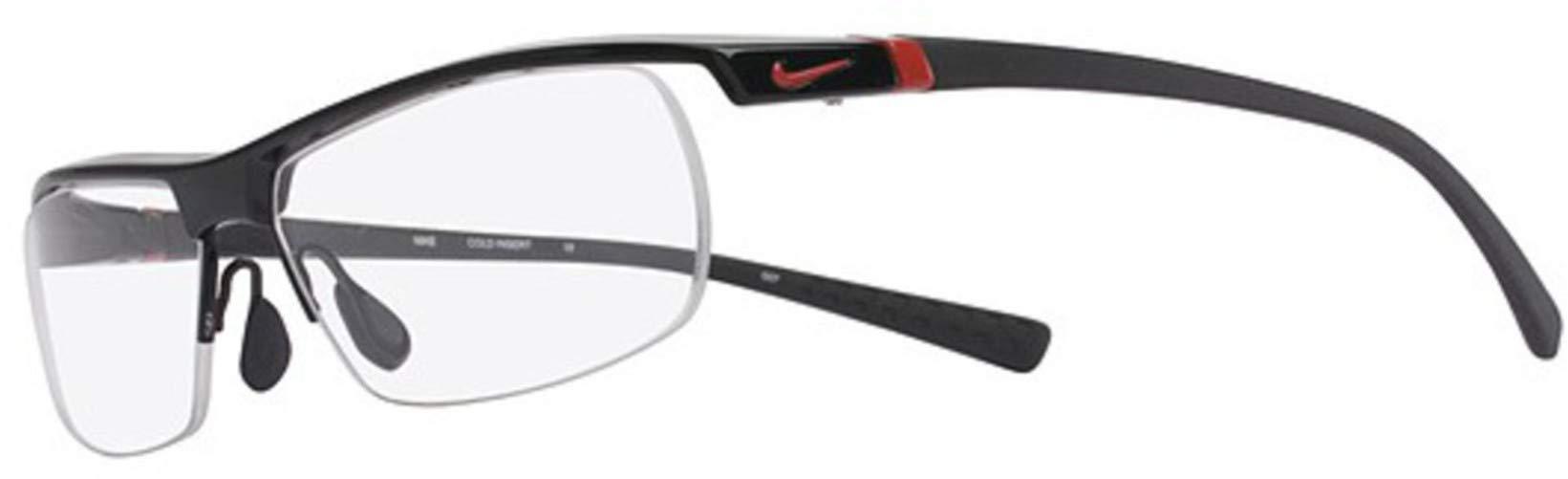 Nike Eyeglasses 7071/2 002 Gloss Black Demo 57 14