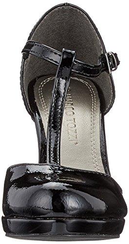 Patent Femme 24416 Black Tozzi Marco Escarpins Noir t5YXYwq
