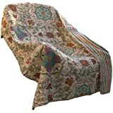 None Esprit Spice Quilted Throw