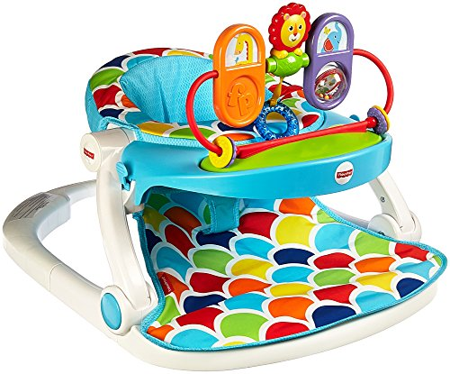 Fisher Price Sit Me Up Floor Seat Tray