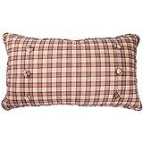 Waverly 14773012X022TSN Norfolk 12-Inch by 22-Inch Oblong Decorative Pillow, Tea Stain