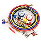 4 Way A/C Manifold Gauge Set Fits R134A R410A and
