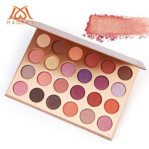 Eye shadow,Longay 24 Color Shimmer Glitter Eye Shadow Powder Matt Eyeshadow Cosmetic Makeup ()