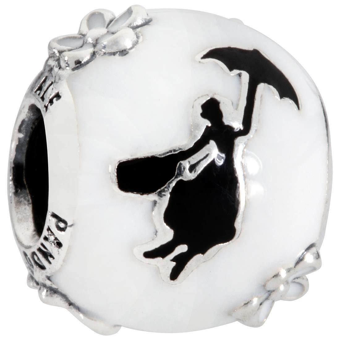 paraguas Disney Charm en plata de ley Bolso de Mary Poppins