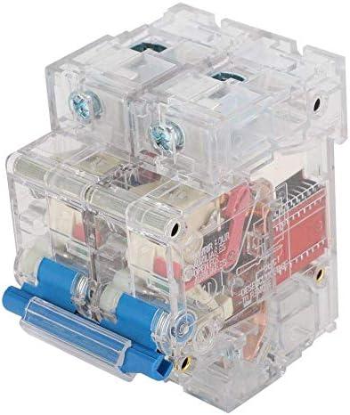 WXQ-XQ 2極回路ブレーカDZ47 DINレール取付サーキットブレーカAC 63A / 80A / 100A / 125Aミニチュアブレーカ(DZ47-2P(80A)) 遮断器