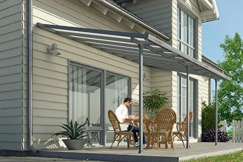 Amazon.de: Hochwertige ALU Terrassenüberdachung / Veranda - 420 x ...