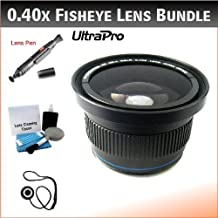 NEW 52mm 0.40x High Definition Fisheye Lens with Macro Attachment for the Nikon D5200, D3200, D3100, D7000, D70, D80, D300s, D600, D700, D800 Digital SLRs. Includes 0.40x High Definition Fisheye Lens with Macro Attachment, Lens Pen Cleaner, Cap Keeper, UltraPro Deluxe Cleaning Kit