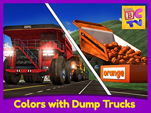 Tiny Monsters Halloween Eggs (Learn Colors with Dump Trucks - Part)