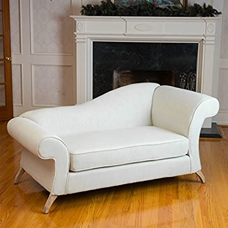 Amazon Cleopatra Ivory Chaise Lounge Sofa Loveseat Kitchen