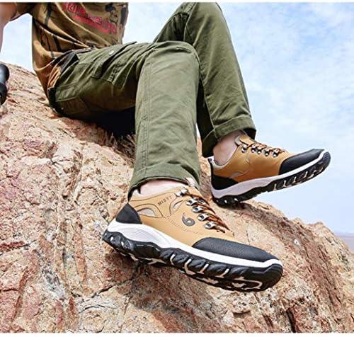 トレッキングシューズ 登山靴 軽量 メンズ ウォーキングシューズ ハイキングシューズ 防水 防滑 耐磨耗 衝撃吸収 ローカット スニーカー 幅広 四季通用 アウトドアシューズ 黒 イエロー グリーン