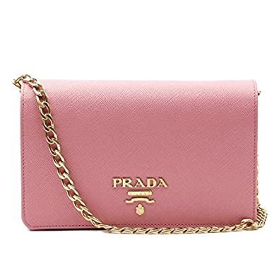 3cdbfcca2413d5 ... cheap wiberlux prada womens gold chain strap real leather mini bag  84b1a 72a01
