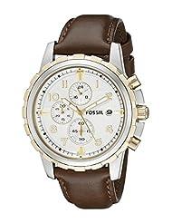 Fossil Men's FS4788 Dean Analog Display Analog Quartz Brown Watch